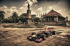 Formel 1 - Red-Bull-Showrun auf Sri Lanka