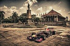 Formel 1 - Bilder: Red-Bull-Showrun auf Sri Lanka
