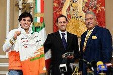 Formel 1 - Die gro�e Chance f�r Force India: Sergio Perez: Hungrig nach Erfolgen