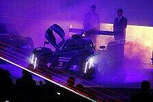 WEC - Audis Laser-Pr�sentation
