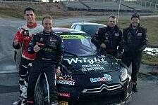 Mehr Rallyes - Norwegisches Doppel: Rallycross: Solberg startet mit Zwei-Mann-Team