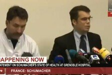 Formel 1 - Zustand kritisch: Video - Schumacher-Unfall: Die Pressekonferenz