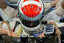 Formel 1 - Adrian Sutil beim Seatfitting