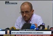 Formel 1 - Leichte Besserung: Video - Schumacher-Unfall: Die 2. Pressekonferenz