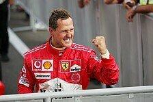 Formel 1 - Neue Informationen zum Rekordweltmeister: Schumacher: Anzeichen machen Mut
