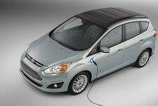 Auto - Mehr Unabh�ngigkeit vom �ffentlichen Stromnetz : Ford C-MAX Energi Solar Concept mit Solardach