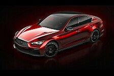 Auto - Designvision eines High-Performance-Fahrzeugs: Infiniti zeigt erstes Bild des Q50 Eau Rouge