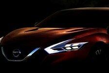 Auto - Sport Sedan Concept verr�t neue Designrichtung: Konzept-Sportlimousine von Nissan feiert Premiere