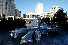 Formel E - Elektro-Zauber in der Zockerw�ste: Formel E: Demofahrt in Vegas, baby!