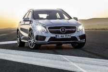 Auto - Multitalent mit Driving Performance: Der neue Mercedes-Benz GLA 45 AMG