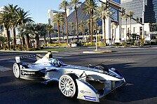 Formel E - Die Formel E verzaubert Las Vegas