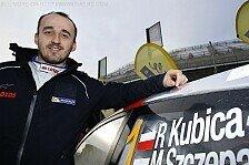 WRC - 50 Prozent der Rallyes sind neu: Kubica: Dieses Jahr wird einfacher