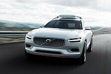 Auto - Anspruchsvoll, leistungsf�hig, sicher : Volvo pr�sentiert das Concept XC Coup�