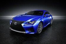 Auto - Mit 450 PS an die �ffentlichkeit: Lexus Sportcoup� RC pr�sentiert