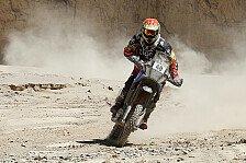 Dakar - Highlight kurz vor der Heimat: Speedbrain: Esquerre von eins auf zw�lf