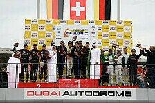 Mehr Sportwagen - Zweiter Platz bei den 24 Stunden von Dubai: Muennich Motorsport beginnt 2014 auf Podest