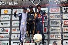 Formel 1 - Enger Kampf um das Podest: Liuzzi gewinnt Massas Charity-Kartrennen