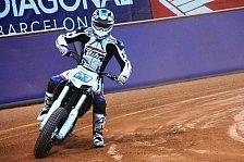 Moto2 - Talentprobe auf ungewohntem Terrain: Schr�tter inmitten der Superstars beim Dirt Track