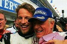 Formel 1 - Abschied von Papa Schlumpf: Button meldet sich nach Tod seines Vaters zu Wort