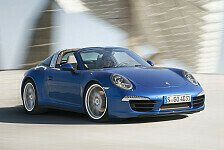 Auto - Moderner Klassiker: Weltpremiere des neuen Porsche 911 Targa