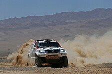 Dakar - Drei Reifensch�den und ein Beinahe-Crash: De Villiers vom Pech verfolgt