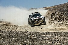 Dakar - Zweiter Tagessieg f�r Nasser Al-Attiyah im MINI ALL4 Racing: Al-Attiyah �bernimmt dritten Gesamtrang