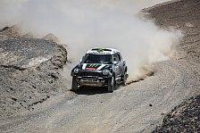 Dakar - Vier Minis an der Spitze der Gesamtwertung: Peterhansel holt f�nften Tagessieg f�r X-raid