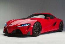 Auto - Konzeptauto zeigt k�nftige Sportwagen-Designsprache: Designstudie Toyota FT-1 feiert Weltpremiere