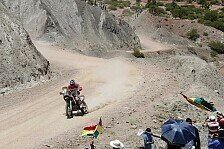 Dakar - Es war echt kn�ppelhart: Speedbrain-Team zwischen Lachen und Weinen