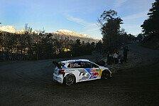 WRC - Der Col de Turini wirft seine Schatten voraus: Ogier �bernachtet in Monte-Carlo-F�hrung