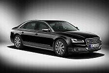 Auto - Souver�ner Schutz f�r die Passagiere: Der neue Audi A8 L Security