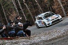 WRC - Kubica auf Rang drei: Monte Carlo: Favoriten auf dem Vormarsch