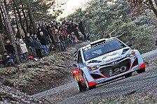 WRC - Zu schnell unterwegs: Monte Carlo: Neuville bereits ausgeschieden