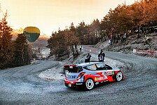 WRC - Batterie spielte nicht mehr mit: Monte Carlo: Hyundai mit Doppel-Aus an Tag eins