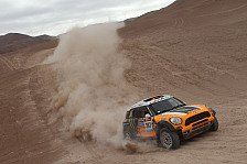 Dakar - Vier MINI ALL4 Racing an der Spitze der Gesamtwertung: Terranova holt Tagessieg f�r X-raid