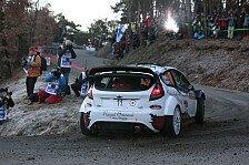 WRC - Bouffier setzt Winterm�rchen fort: Monte Carlo: Ogier auf dem Vormarsch