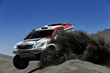 Dakar - Mr. und Mr. Zuverl�ssig auf Rang vier: De Villiers/von Zitzewitz Best of the Rest