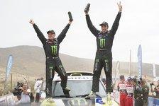 Dakar - De Villiers siegt auf der letzten Etappe: Roma gewinnt die Rallye Dakar 2014