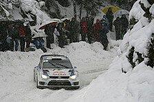 WRC - Schneechaos am Col de Turini: Ogier erf�llt sich den Traum vom Monte-Carlo-Sieg