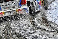 WRC - Spikes im Regen und Slicks im Schnee: Monte Carlo: VW atmet auf - Platt, aber gl�cklich