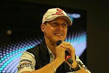 Formel 1 - Bin so ber�hrt wie er damals: Zanardi freut sich auf Schumachers Genesung
