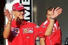 Formel 1 - Gedenkmarsch bei 0 Grad: Fan-Versammlung f�r Schumacher in Spa