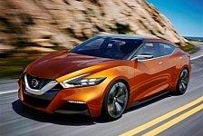 Auto - Nissan gibt Ausblick auf k�nftige Serienlimousine: Nissan mit schwebendem Dach