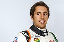 Formel 1 - Testeins�tze garantiert: Juncadella wird Ersatzfahrer bei Force India