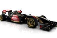 Formel 1 - Power Unit und Chassis fehlerfrei und funktionst�chtig: Lotus spult 100 Kilometer an Filmtag ab