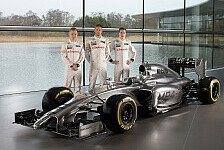 Formel 1 - Pr�sentation McLaren MP4-29