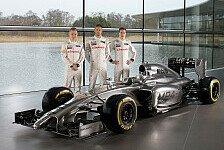 Formel 1 - Bilder: Pr�sentation McLaren MP4-29