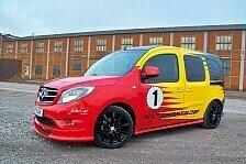 Auto - Flink. Flott. Furios: VANSPORTS pr�sentiert den Mercedes-Benz Citan