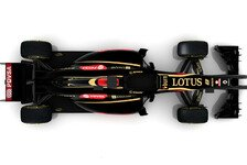 Formel 1 - Back to School: Lotus: Video statt Boliden pr�sentiert