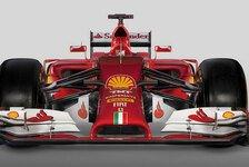 Formel 1 - Das rote Schnabeltier: Ferrari enth�llt den F14 T